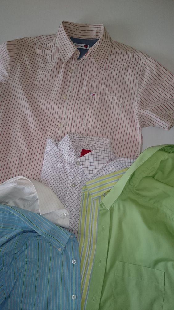 Herenoverhemden maten M, L en XL van Tommy Hilfiger of Esprit. Te koop € 50,00 of te huur.