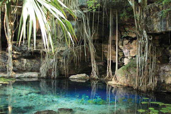 Cenote Xbatún, Yucatán, México