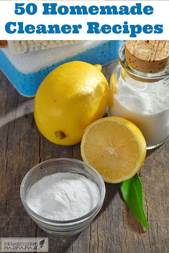 50 BEST Homemade Cleaner Recipes
