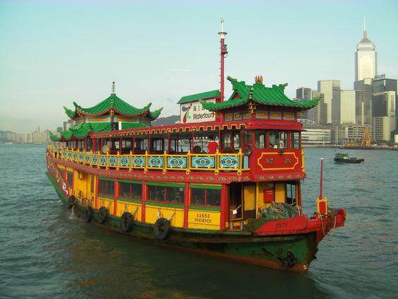 Junk boat-Hong Kong