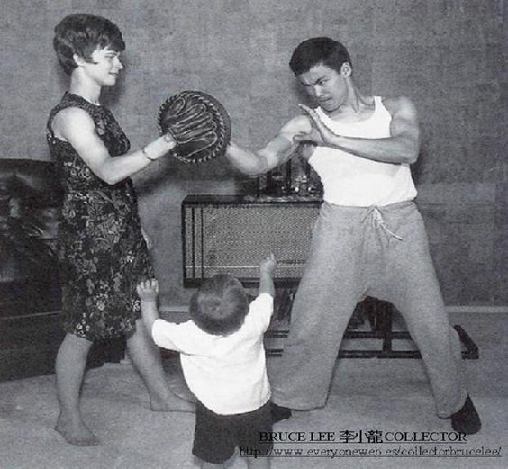 Bruce Lee Linda Lee And Brandon Lee
