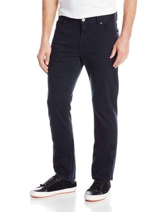 Amazon.com: Original Penguin Men's P55 Indigo Slim Fit 5-Pocket Twill Jean: Clothing: