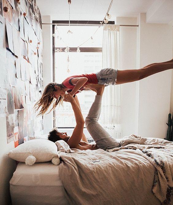 current morning situation | gymnastics | couple goals | cute couple | urban romantix | Fitz & Huxley | www.fitzandhuxley.com
