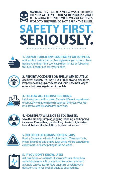 chemistry lab safety rules pdf