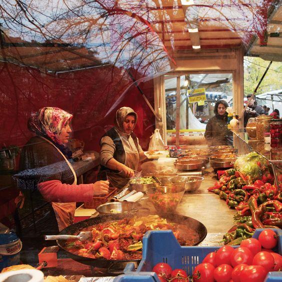 #SAVEUR100 no. 26: Türkenmarkt, the culinary epicenter of Berlin's Turkish community. Ich war noch nicht hier warum nicht ey??