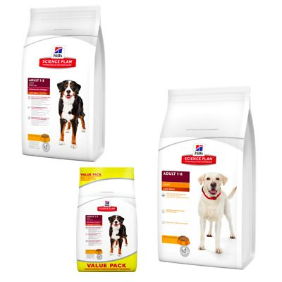 Details About Hill S Science Plan Adult Fitness Large Dog Dry Food