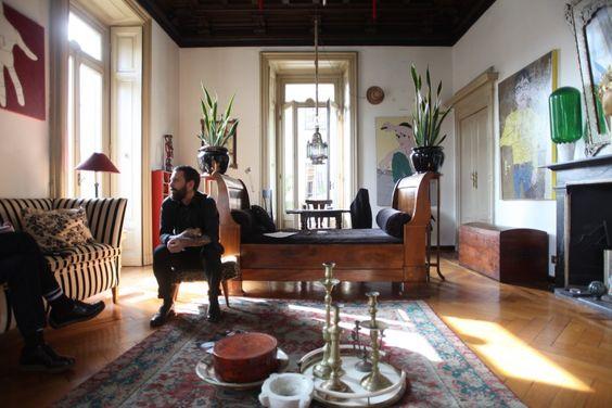Freunde von Freunden — Rudy de Amicis Apartment