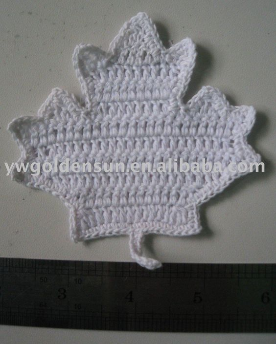 Free Crochet Pattern For A Maple Leaf : Free Maple Leaf Potholder Crochet Pattern Crochet ...
