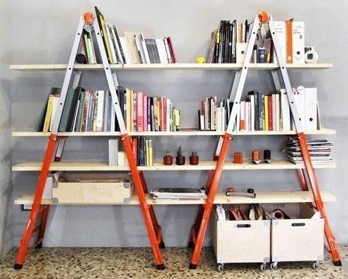 As Melhores Idéias de Estante de Livros