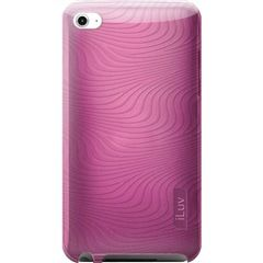 Pink Flexi-Metallic TPU Case With 3D Pattern For iPod® touch 2G/3G  iLuv ICC616PNK  PRICE DROP!  Price: $13.33