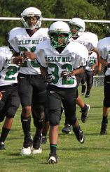 #9 Defining moment in my life: When I made the middle school football team as a 7th grader at Kelly Mill Middle School.