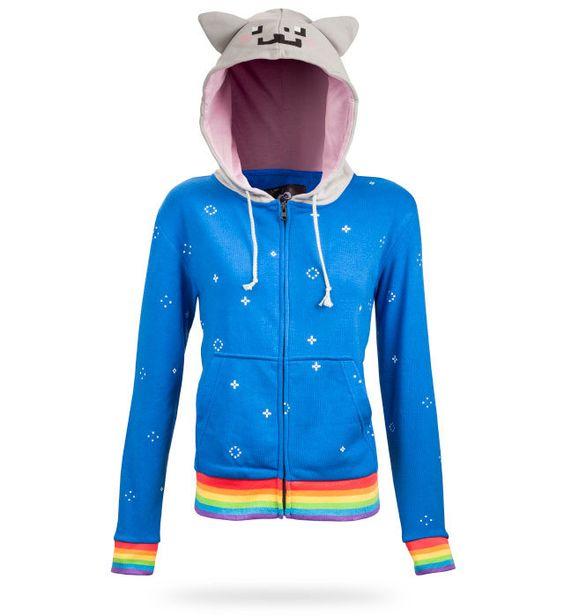 Nyan cat hoodie for women