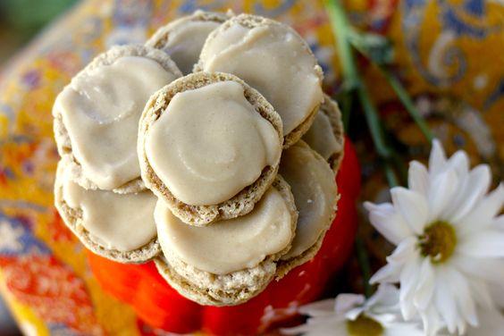 carrot cake cookies maple glaze egg free cake cookies carrot cakes ...