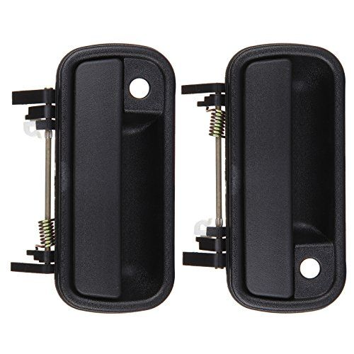 Eccpp 2pcs Door Handle Black Exterior Front Right Left Side For 1989 1995 Toyota Pickup 1989 1997 Toyota 4runner Door Handles Black Exterior Toyota 4runner