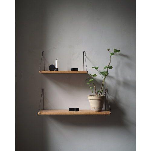 Frama D27 Wall Shelf 40 Cm Brass Wall Shelves Design Scandinavian Shelves Wall Shelves