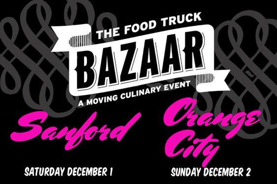 TheDailyCity.com: The Food Truck Bazaar in Sanford + Orange City This Weekend!