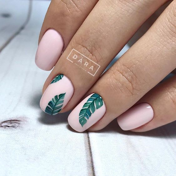 Eye Catching Nail Designs For Summer 2019 Tropical Nails Nails Cute Summer Nail Designs