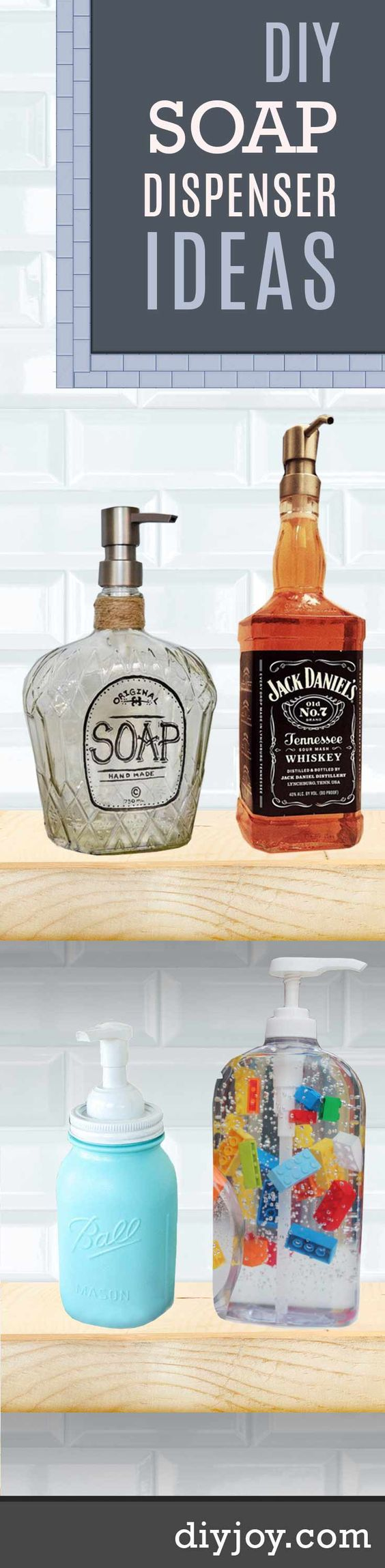 11 diy soap dispensers to dress up your sink do it yourself my website and liquor - Diy soap dispensers ...