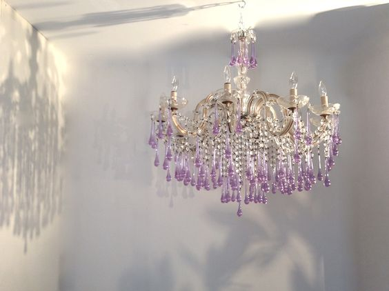 Vintage Marie Therese 10 Arm Chandelier