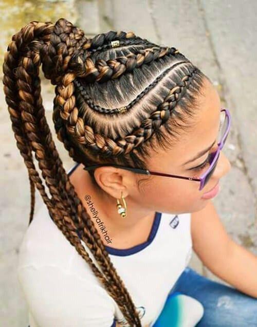 Blonde Hair Youth Bringer Age Stopper Styles Goddess Braids
