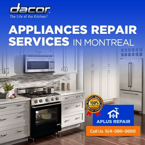 Looking for Kitchen #appliances repair services?? APlus Repair is ...