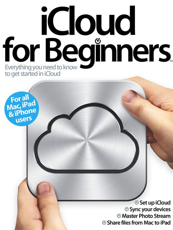Gonna need this: iCloud for Beginners Multi-Touch eBook