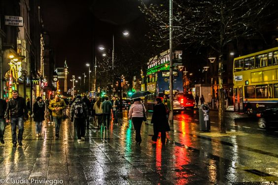 St patricku0027s rainy night in Dublin by Claudia Privi on 500px - mitbringsel aus der küche