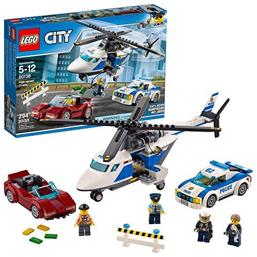 Lego City Police High Speed Chase Building Toy Now 23 40 Was 39 99 Lego City Lego City Police Lego City Sets