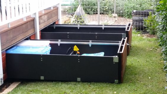 Make use of all that wasted under deck storage space with fully customised deck drawers for your home.