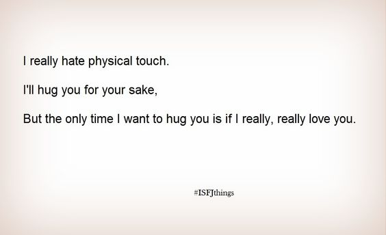 For all the people who don't like hugging that I hug anyway :)
