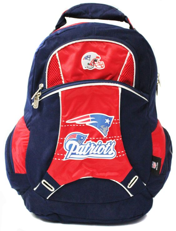 Mochila Juvenil de Patriots de Nueva Inglaterra http://www.mnn.com.mx/pagina/mochila-juvenil/579-nf14bp08-ne.html