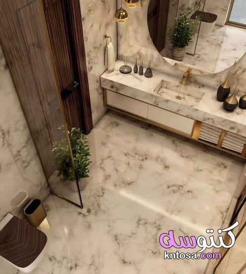 فخامة حمامات الرخام حمامات رخام غاية في الجمال تصميمات حمامات أنيقة من الرخام Marble Bathroom Kntosa Bathroom Makeover Luxury Bathroom Modern Bathroom Design