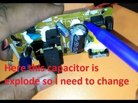 Here In This Post We Change The Capacitor Only From This Switch Mode Power Supply It S A Simple Work To Cha Switched Mode Power Supply Capacitor Power Supply