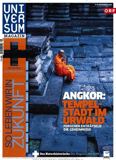 #Angkor: Tempelstadt im Urwald - Forscher enträtseln die Geheimnisse  Jetzt in Universum Magazin, Ausgabe 9/2016. #Khmer #Kambodscha