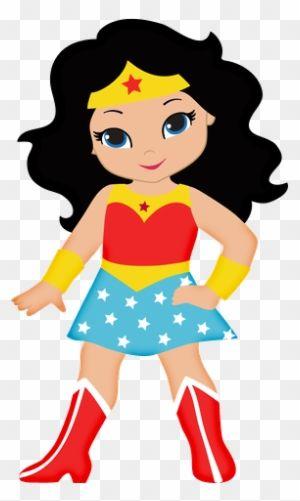 Cute Wonder Woman Clipart Centros De Mesa De La Mujer Maravilla Wonder Woman Party Wonder Woman Birthday Wonder Woman Birthday Party