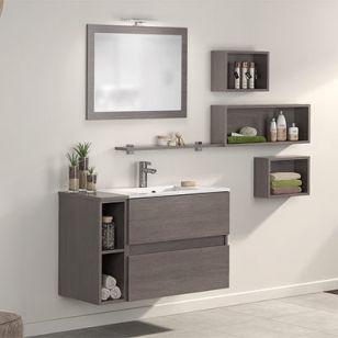 meubles salle de bains d motion l 100 cm delpha espace aubade - Meuble Salle De Bain Unique Onde