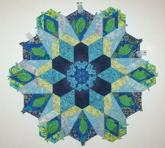 The New Hexagon - Millefiore Quilt-Along