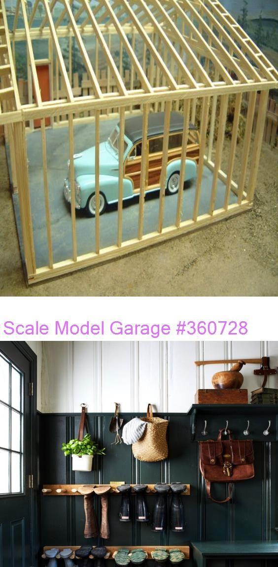 Scale Model Garage 360728 In 2020 Scale Models Garage Decor