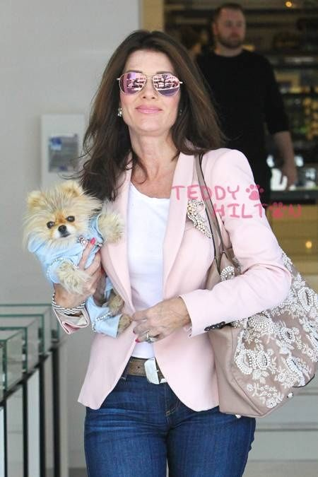 Lisa Vanderpump, one of the stars of The Real Housewives of Beverly Hills, is rarely seen without her dog Giggy. Description from pinterest.com. I searched for this on bing.com/images