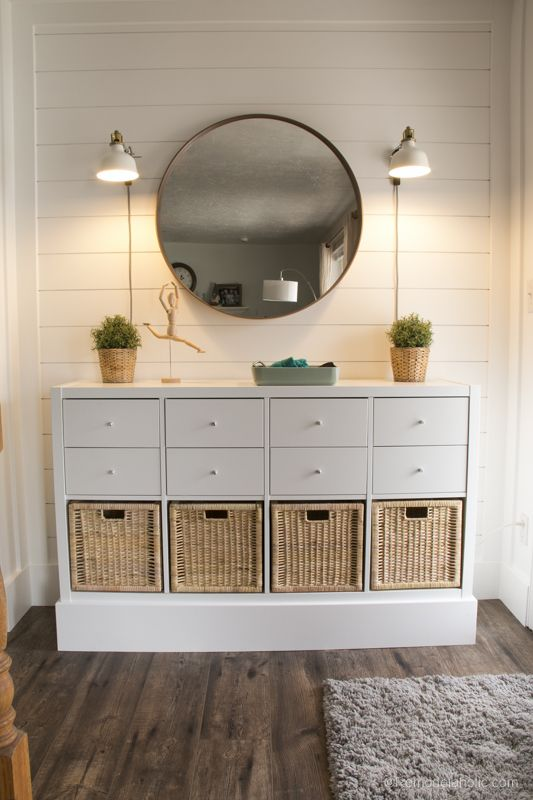 Quick And Easy Entryway Organizing Using An Affordable Ikea Kallax