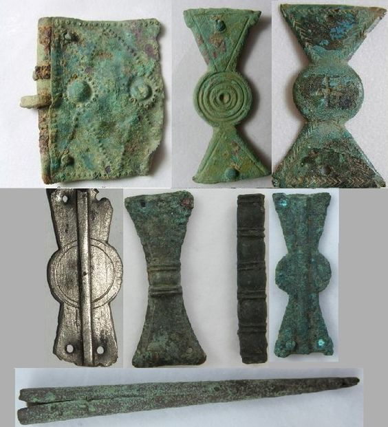 5th Century Belt pieces