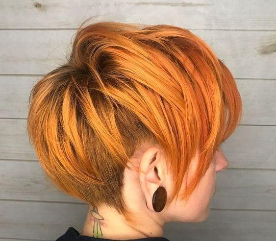 Haarfarben Trends Frisuren 2021 Frauen Kurz