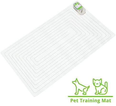 Shock Mats for Cats Dogs Keeping Cats Dogs Off Furniture Counter Sofa penobon Pet Training Mat Indoor Outdoor Scat Pet Mat with 3 Training Modes Safe Dog Repellent Mat