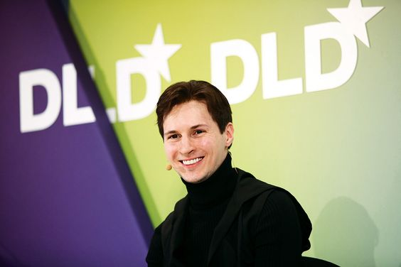 Pavel Durov, fundador do Telegram e do VK (Getty Images)