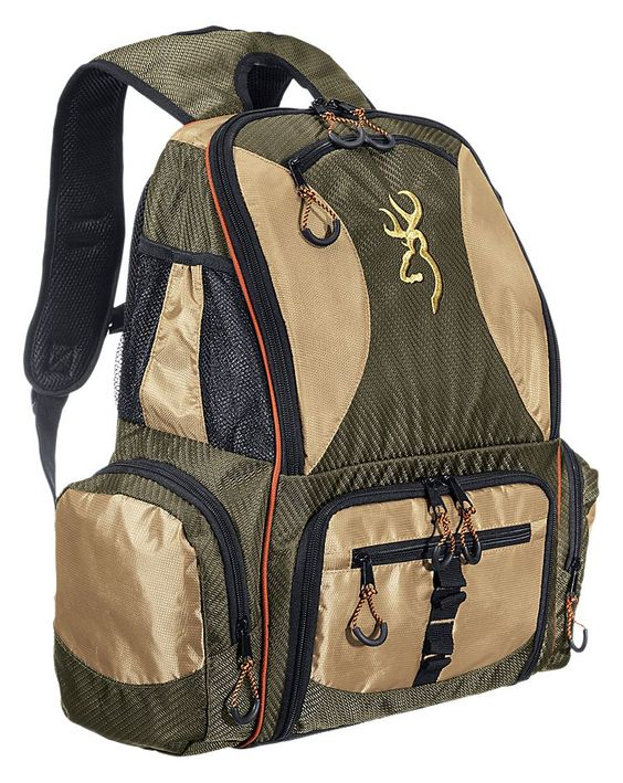Browning fishing backpack tackle bag or system fishing for Fly fishing backpack