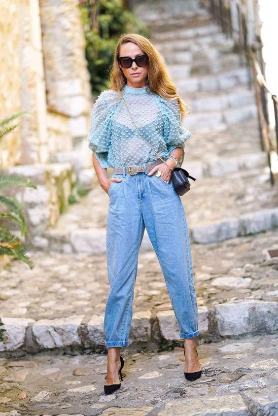 Slouchy Jeans sind der neue Trend in Sachen Denim. Skinny und Mom war gestern! Heute ist maximale Lässigkeit angesagt. Coole Stylingtipps! #denimtrend #jeans #trend #slouchy