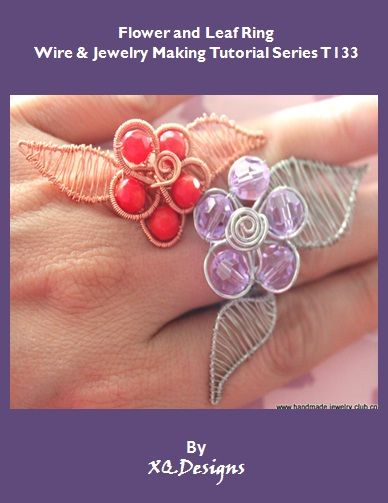 T133 Flower and Leaf Ring Tutorial