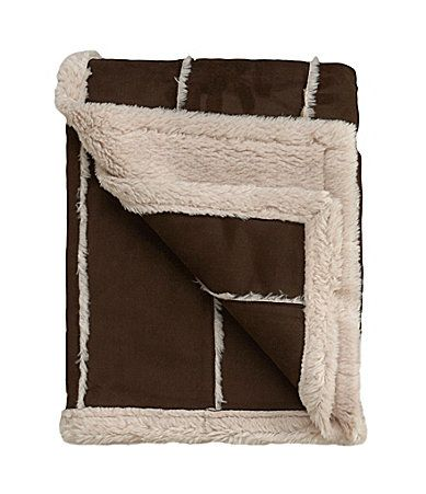 Pinner Tammy says 'Ponderosa Sherpa Throw #Dillards  I got this blanket for Christmas last year and it has to be the BEST present I ever got!!! LOVE, LOVE, LOVE this throw blanket!!!'