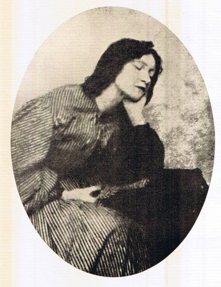 Elizabeth Siddal (from a photograph of an old daguerrotype)