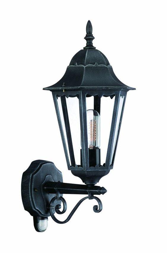 Massive Aussenleuchte Aussenlampe mit Bewegungsmelder Wandlampe Lampe 150285419